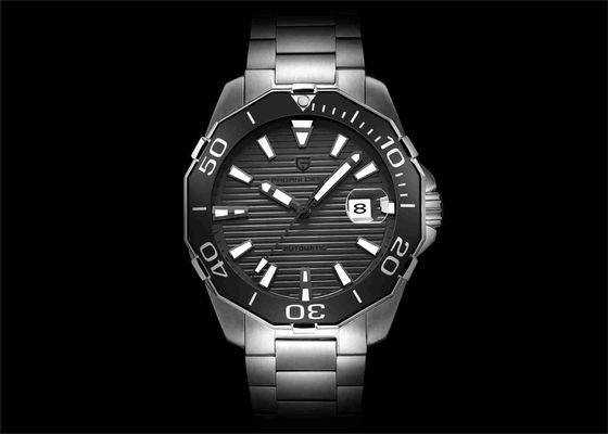 Waterproof Automatic Mechanical Watch Black Face Automatic Wrist Watch