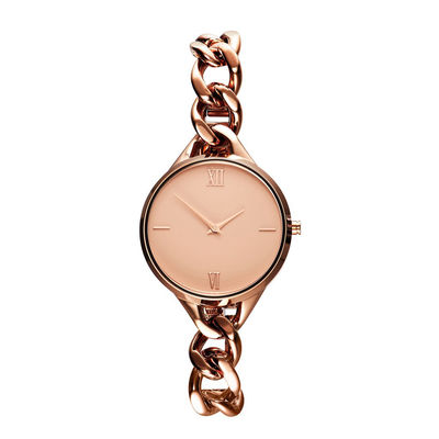 Metal Mesh Bracelet Watch For Girl , Bracelet Womens Watches Mineral Crystal