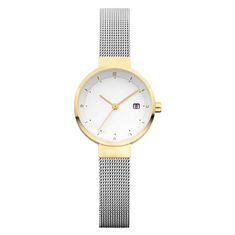 China Women'S Quartz Stainless Steel Watch Mineral Crystal With Japan Movement supplier