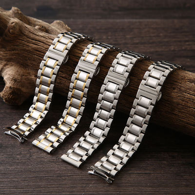 Stainless steel 304 material chain watch band for luxury mens watch