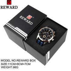 Paper Material Watch Storage Box REWARD Paper Gift 11x8x7cm Size CE Approval