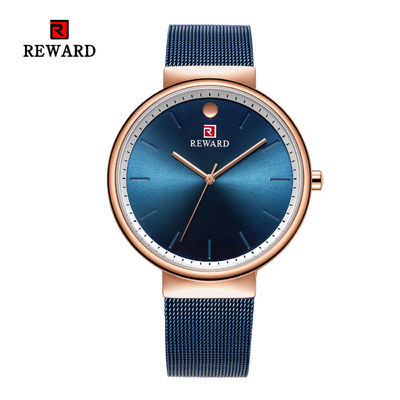 China Quartz Movement Mens Stainless Steel Watches Alloy Case 3 Atm Water Resistant supplier